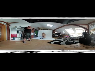 Antonia Sainz 05 – Backstage before masturbation video 3DVR 360 UP-DOWN