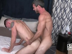 Daniel & Graham suck and fuck Bareback- Sean Cody