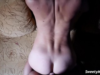Cute Girl Sex with her BF POV