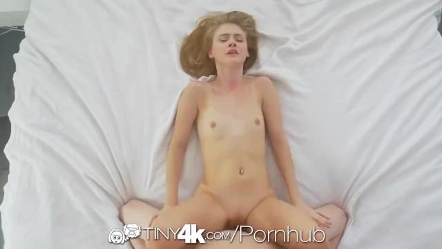 TINY4K Big dick POUNDING with oozing creampie 33