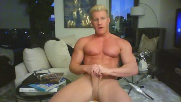 Johnny V Models Underwear/ Poses Nude/ Dirty Talks/ Stroke Show
