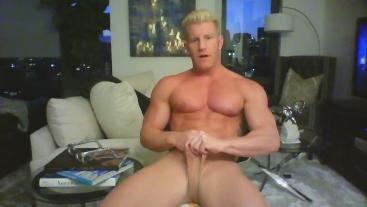 Johnny V Models Underwear/ Poses Nude/ Dirty Talks/ Stroke Show