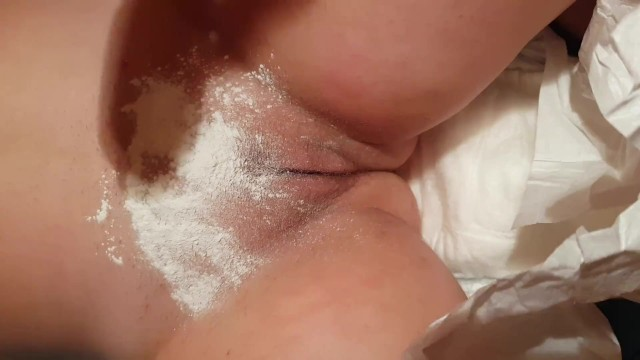Diaper Boy Change Mommy Diaper and Touching Pussy