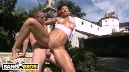 BANGBROS - Rose Monroe and Rachel Starr Together In An Ass Parade Video!
