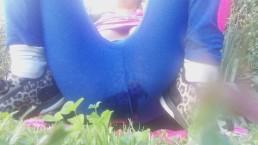 outdoor pee incident!!