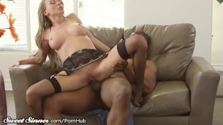 SweetSinner Cheating MILF Caught and Punished by Hubby's BBC! Masturbation trans