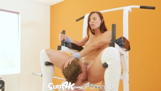 Oozing workout creampie cumk multiple cowgirl reverse