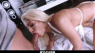 MYLF - Busty White Bikini Latina Clenches A Young Studs Cock  doggy style reverse cowgirl mom blonde blowjob cumshot missionary busty milf mylf cowgirl spanish big boobs big butt tit fuck