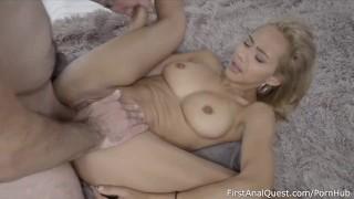 Remarkable anal creampie virgin Veronica Leal