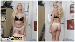 BANGBROS - Petite Blonde Naomi Woods Casting Video, Riding Tony Rubino