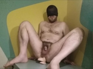 Fucking a ass in a hotel room...