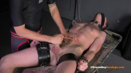 HUNG TWINK COLE MILLER MILKED CUMS BDSM GAY BONDAGE WHIPPING SPANKING BJ