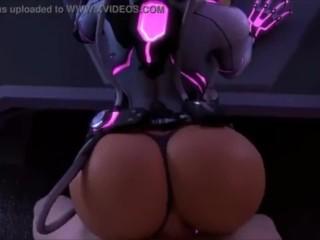 Overwatch Sombra Ass