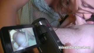 Making my husband watch a video of me getting my ass fucked by a stranger!