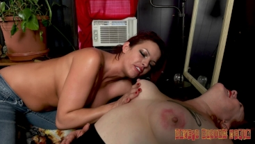 Extreme Lesbian Tit Sucking Bella Ink and Heidee Nytes