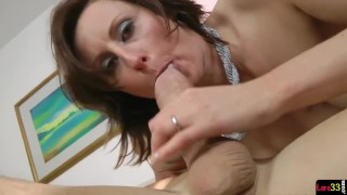 Seduces officer milf police gorgeous mother classy
