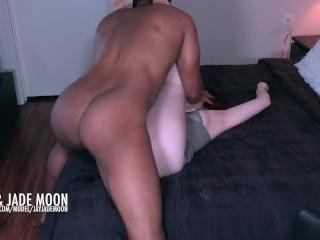 Catching the Cumshot • DickAfterDark • JayJadeMoon Amateur Couple