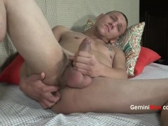 Str8t Thug's Tight Virgin Ass Cracked with First Toy