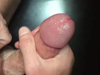 Blu jacking his big daddy dick after gym...