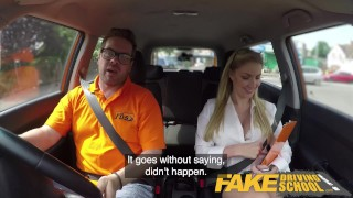 Fake Driving School Georgie Lyall Off Duty Sex Blonde petite