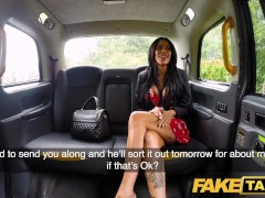 Fake Taxi Horny deepthroat and busty anal fuck reward for driver