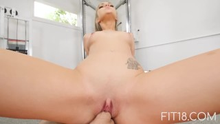 Fit18 - Athena Faris - 50kg - Flexible Teen Gets Creampied porno