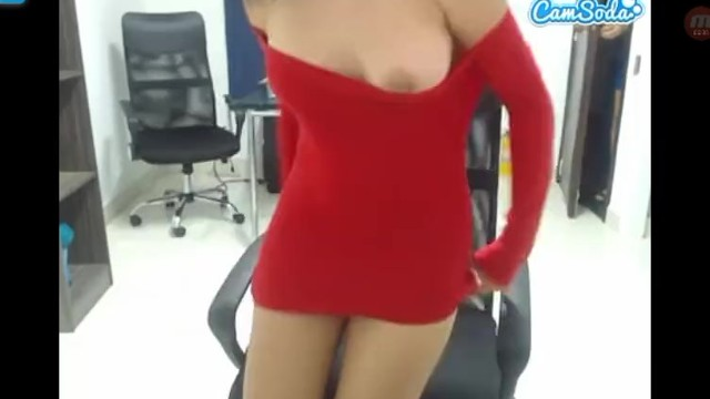 Milky pussy orgasm Martina get silly with her coworker sucks her milky tits and put on lush on