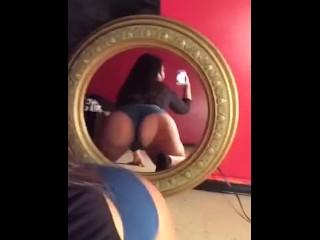 Latina bouncing ass...