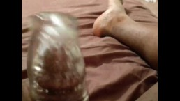Black Chub First Time with Fleshlight