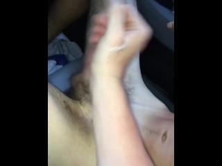 Straight boy lets me give him a handjob (part 2)