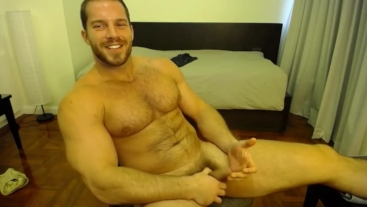 Brock Jacobs Takes Off His Underwear And Strokes