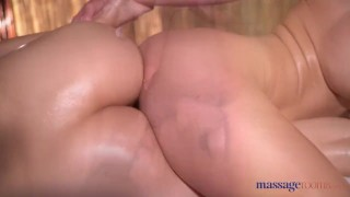 By rubbed anya blonde rooms down big cherie massage krey nathaly tits boobs erotic
