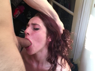 Babe in army bra get her ass fucked!!