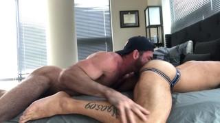 DC Daddy Cumdump takes Billy Santoro's Anon Loads