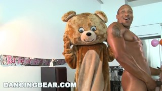 DANCING BEAR - This Bachelorette Loft Party Is Off The Muthafuckin' Chain! Dom talk