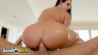 And massage cheat bangbros gets on milf thicc angela a husband her white tits btra
