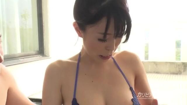 【無】好色妻降臨 49 パート 2 里中結衣 Yui Satonaka 12