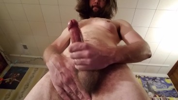 Daddy busts a fat nut in your face