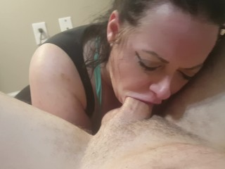 Wifey_Blows_Best blowjob and rimjob for big facial cumshot