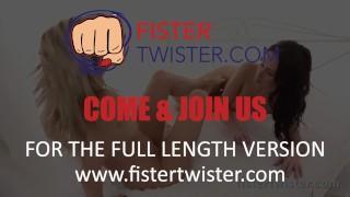 Fuck for blonde dildo prepares fist big fisting lesbian black fistertwister slim