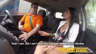 Covered spunk alice pussy fake busty for babe british judge school driving of cock