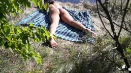 Arab Passionately Fucks a Sleepy Hot Brunette Teen on Public Beach Sex
