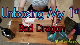 Unboxing My 1st Bad Dragon! Nox, Lil' Squirt Cockatrice & Cum Lube