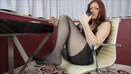 TIFFANY MYNX STINKY 5 TOE PANTYHOSE