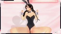 Sakurajima Mai Custom maid 3D 2 Rascal does not dream of bunny girl senpai