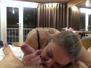 Sucking Daddys fat cock till he loudly explodes in my mouth (Version 2.0)
