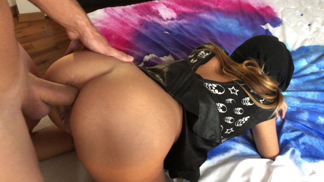 Amateur couple | Huge gapes and make her ass squirting hard.HD