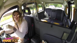 Female Fake Taxi Im sorry I fucked your wife Blowjob riding