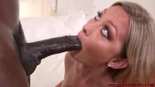 BBC princess Addison Lee takes big black cock hard and deep
