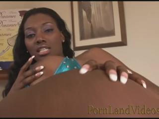 BEAUTIFUL BLACK GIRL GOT CUMSHOT IN ANAL HOLE